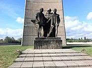Memorial Statue at Sachsenhausen Concentration Camp, Oranienburg