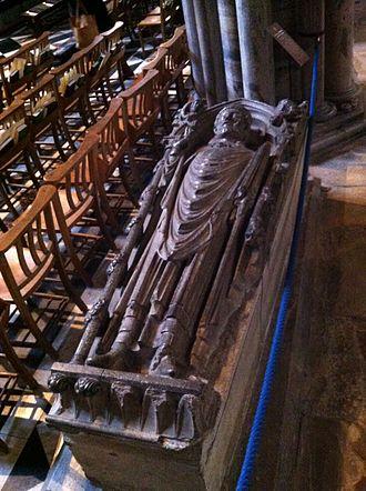 William of Kilkenny - Memorial to Bishop William de Kilkenny in Ely Cathedral