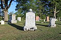 Memorial to Civil War Dead Ogden-Zion Cemetery Blissfield Michigan.JPG
