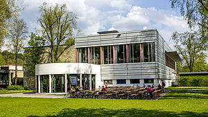 Catholic University of Eichstätt-Ingolstadt - Mensa (student dining hall) of the Catholic University of Eichstätt-Ingolstadt