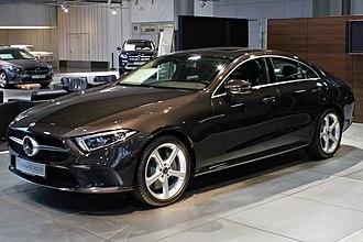 Mercedes-Benz CLS-Class - Image: Mercedes Benz CLS 350d IMG 0901
