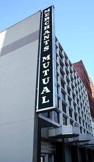 Merchants Insurance Group - Merchants headquarters in Buffalo, NY