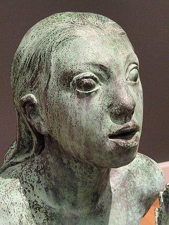 Mermaid (Carl-Nielsen) - Detail