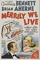 Merrily We Live poster.jpg