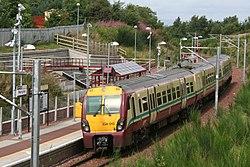 Merryton station (Partick bound train).JPG
