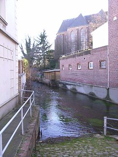 The Linnich mill pond