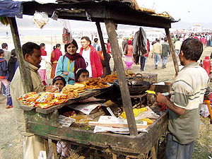 Fast food in Nepal & the Disposable Income Calculator.