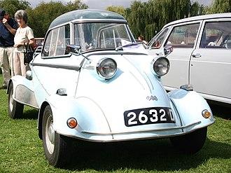 FMR Tg500 - Image: Messerschmitt 4wheel