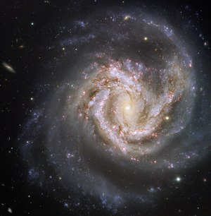 The galaxy Messier 61, captured by the Very Large Telescope
