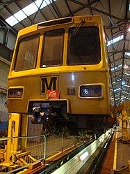 Metrocar 4033, Tyne and Wear Metro depot open day, 8 August 2010 (1).jpg