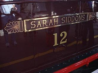 Sarah Siddons - Metropolitan Railway electric locomotive Sarah Siddons