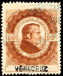 Mexico 1877 documentary revenue 48A Vera Cruz.jpg