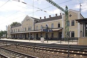 Mezőtúr - The Mezőtúr railway station