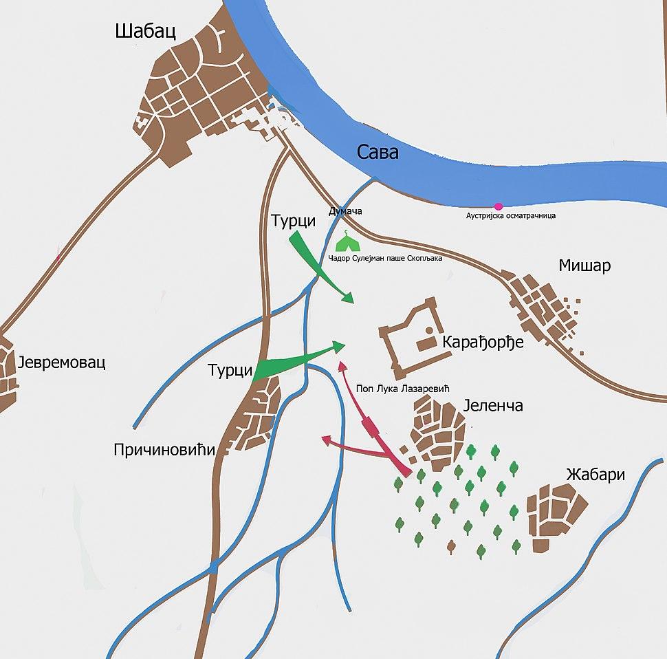 Mišar battle plan