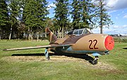 MiG-15UTI, 1947, Shenyang Aircraft Factory - Evergreen Aviation & Space Museum - McMinnville, Oregon - DSC00349.jpg