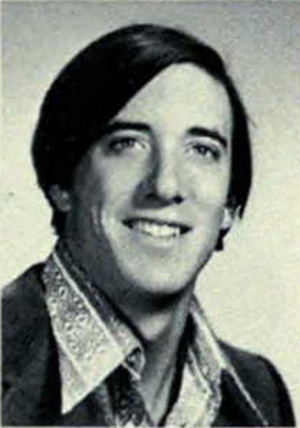 Mike Keller - Keller from 1972 Michiganensian