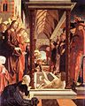 Michael Pacher - St Wolfgang Altarpiece - Resurrection of Lazarus - WGA16832.jpg