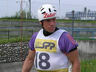 Michal Martikán Slovak slalom canoeist