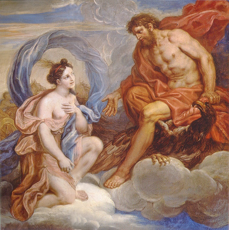 Michel Corneille the Younger - Iris and Jupiter