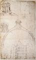Michelangelo - Section through the dom of Saint Peter's.jpg