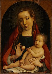 Michael Sittow: The Virgin and Child