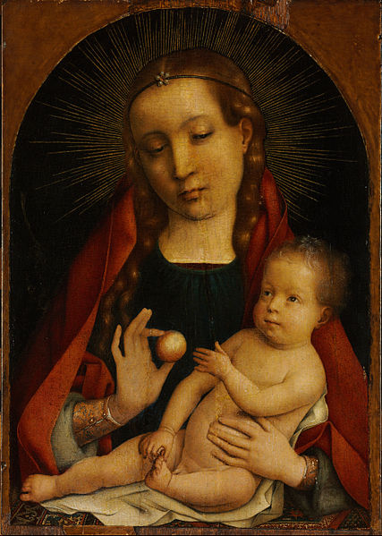 File:Michiel Sittow - The Virgin and Child - Google Art Project.jpg