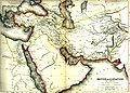 Mid-nineteenth century map of Alexander's empire.jpg