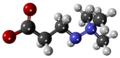 Mildronate - 3D - Scaled-Ball-and-stick Model.png