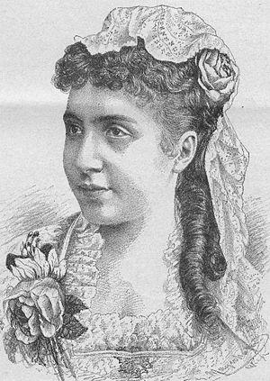 Milka Ternina - 1887 print.
