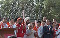 Milkha Singh alongwith the Chief Minister of Delhi, Smt. Sheila Dikshit, and the Executive Vice-President of the Beijing Organizing Committee, Mr. Jiang Xiaoyu attended the Beijing Olympic torch relay.jpg