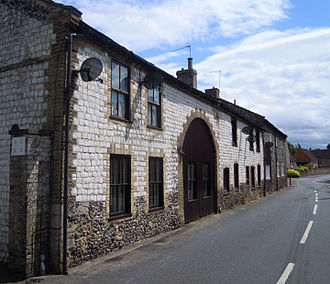 The Deadly Attachment - Part of the episode was filmed on Mill Lane in Thetford.