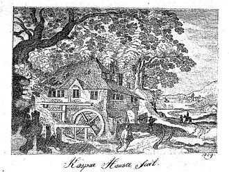 Kaspar Hauser - Pencil drawing by Kaspar Hauser, 1829