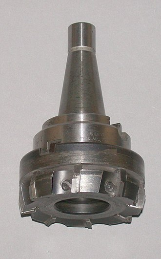 Tipped tool - Carbide tipped face mill