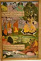 Miniature from the Ramayana, India, Mughal, 1594, The David Collection, Copenhagen (36407731325).jpg