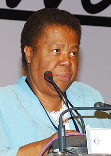 Naledi Pandor South African politician