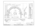 Mission San Juan Capistrano, Olive Street, between U.S. Highway 101 and Main Street, San Juan Capistrano, Orange County, CA HABS CAL,30-SAJUC,1- (sheet 9 of 40).png