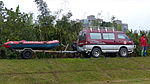 Mitsubishi Delica 4WD of ROC Disaster Rescue Association with Boat Trailer at Nanhu Riverside Park North 20150204.jpg