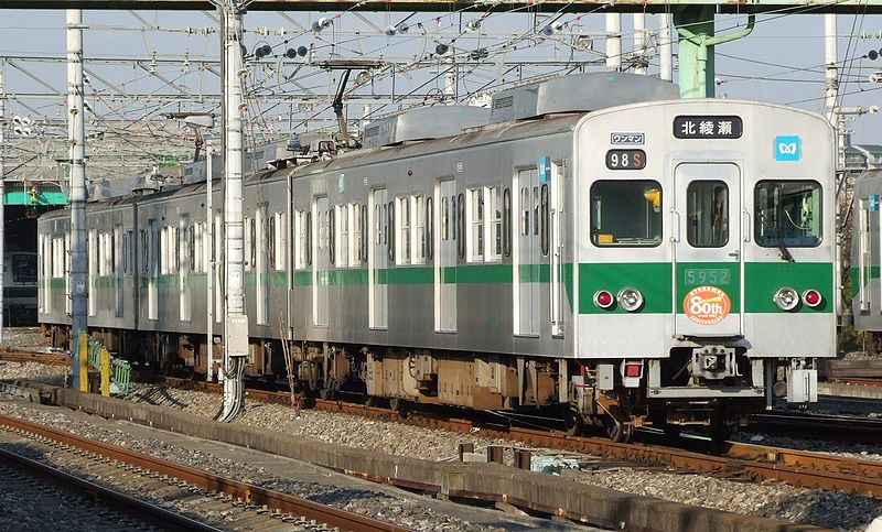 Fichier:Model 5000-Chiyoda of Teito Rapid Transit Authority.JPG