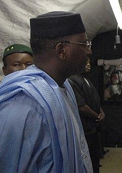 Modibo Sidibé Prime Minister of Mali