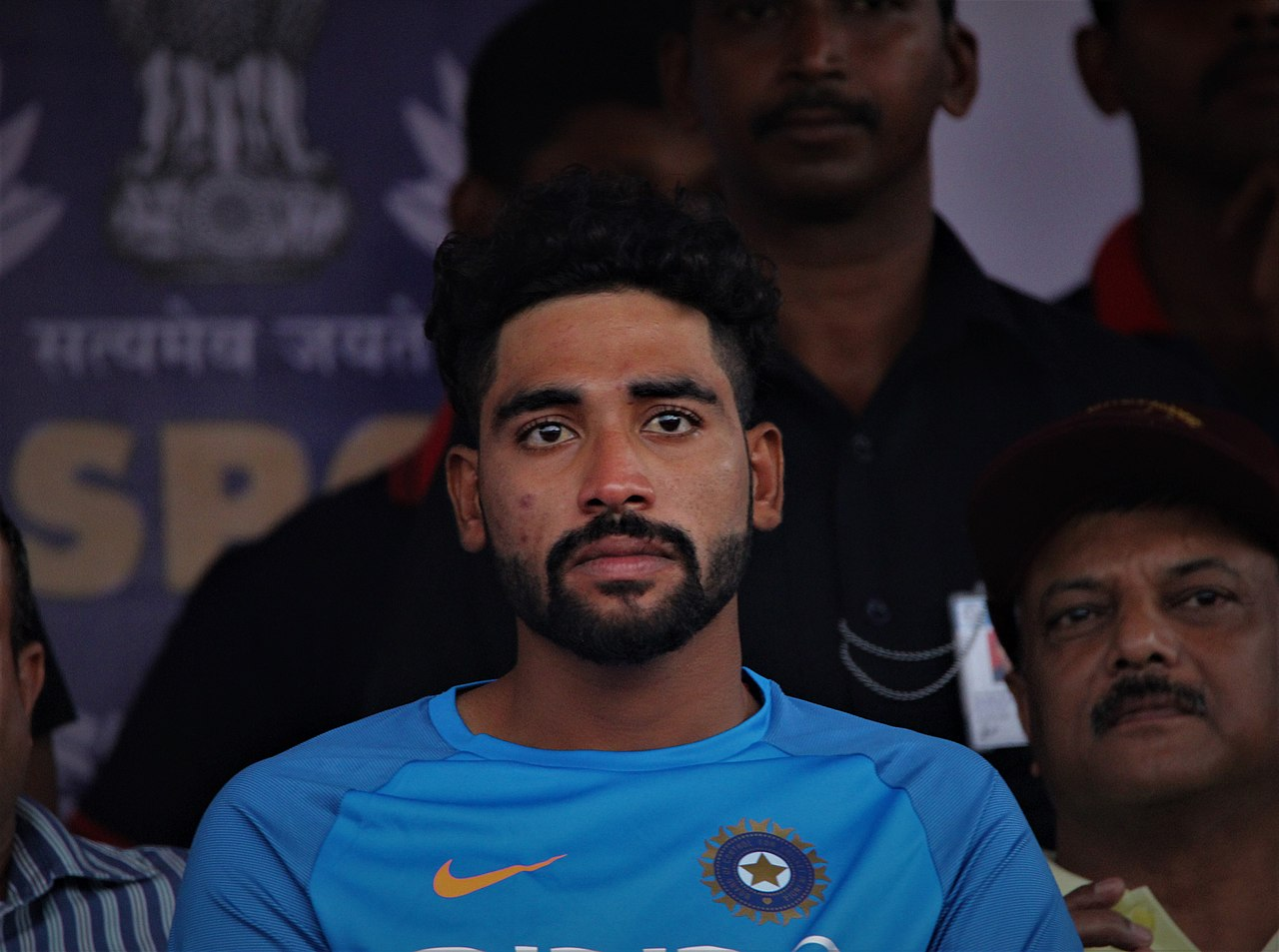 The BCCI has released a document following the death of Mohammad Siraj's father