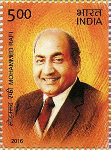 Mohammed Rafi (24 December 1924 – 31 July 1980)