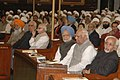 Mohd. Hamid Ansari, the Prime Minister, Dr. Manmohan Singh, the Speaker, Lok Sabha, Shri Somnath Chatterjee and the Leader of Opposition in Lok Sabha.jpg