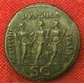 Monetiere di fi, moneta romana imperiale di agrippina, drusilla e giulia.JPG