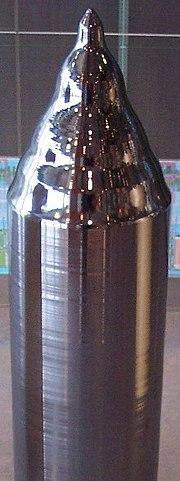 Κρύσταλλος πυριτίου για την παραγωγή ημιαγωγών.