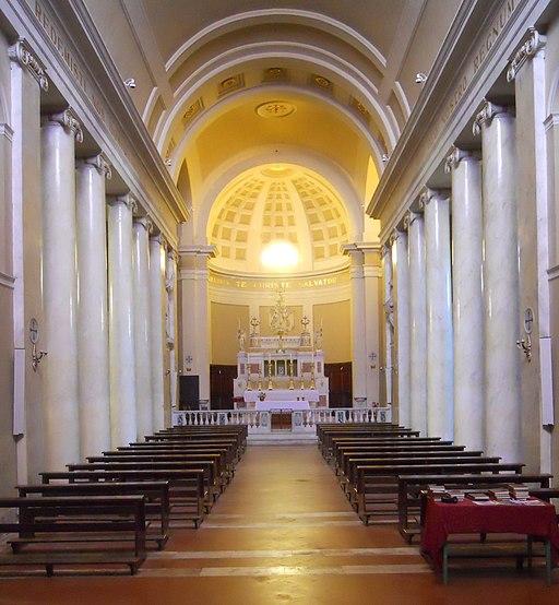 Montalcino, Concattedrale del Santissimo Salvatore - Interno