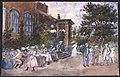Montebello, verandan och familjen . Akvarell av Fritz von Dardel - Nordiska museet - NMA.0037551.jpg