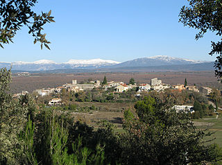 Montmeyan Commune in Provence-Alpes-Côte dAzur, France