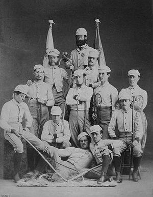 Montreal Lacrosse Club - Montreal Lacrosse Club, 1867
