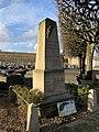 Monument Société Préparation Militaire Cimetière Nogent Marne Perreux Marne 10.jpg