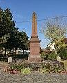 Monument aux morts des Première et Seconde Guerres mondiales (Wintzenheim).jpg